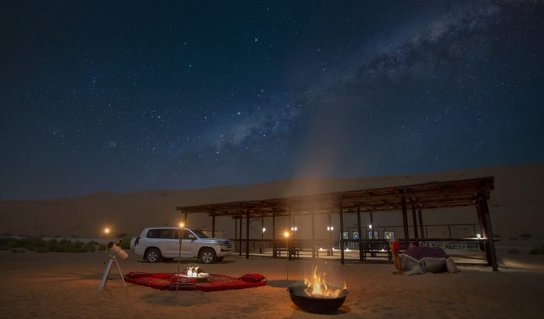 Explore the beauty of the desert with Qasr Al Sarab Desert Resort