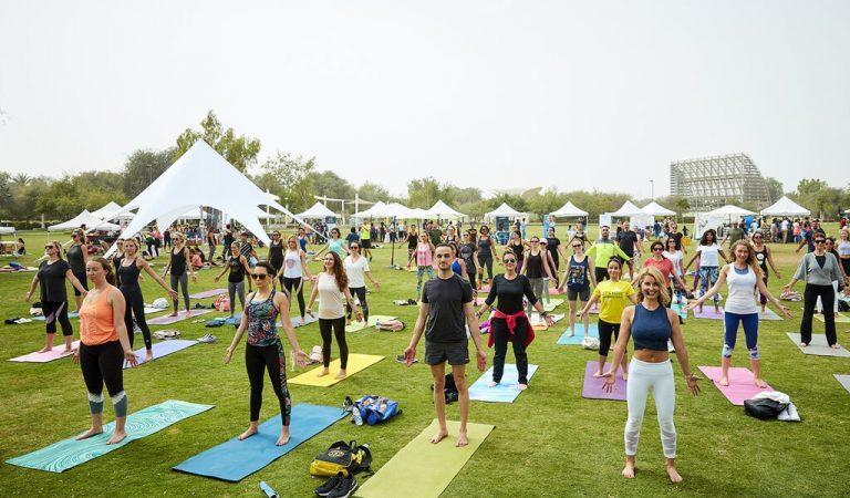 FREE wellness program for park goers at Umm Al Emarat Park